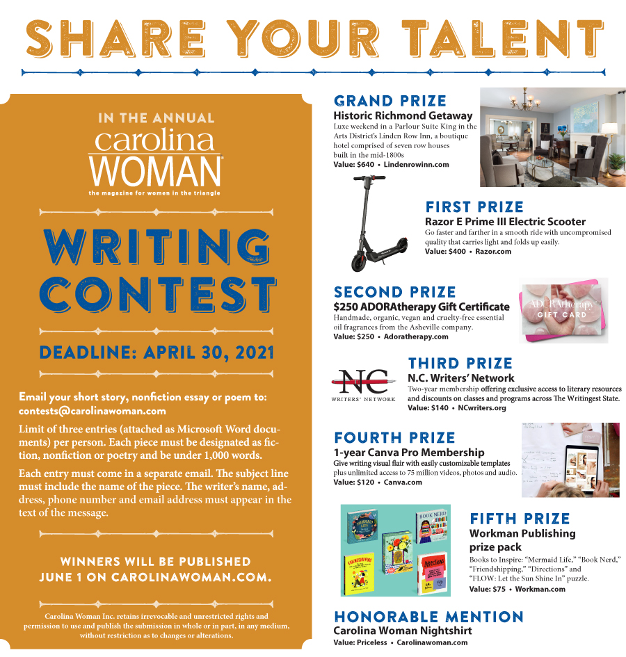 writing contest ad